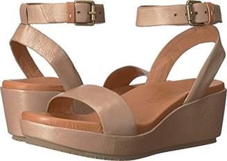 Gentle Souls Kenneth Cole Women's Morrie Platform Wedge Sandal Ankle Strap Sandal