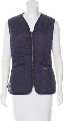 Barbour Fleece-Lined Quilted Vest $75 thestylecure.com
