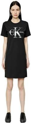 Calvin Klein Jeans True Icon Cotton Jersey T-Shirt Dress
