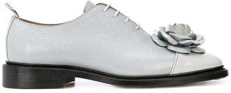 Thom Browne floral-appliquéd oxfords
