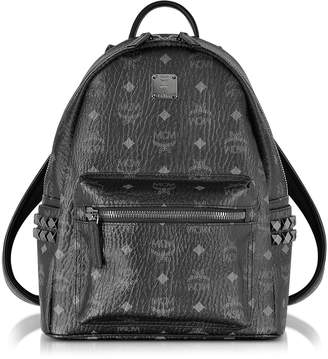 MCM Stark Black Small Backpack