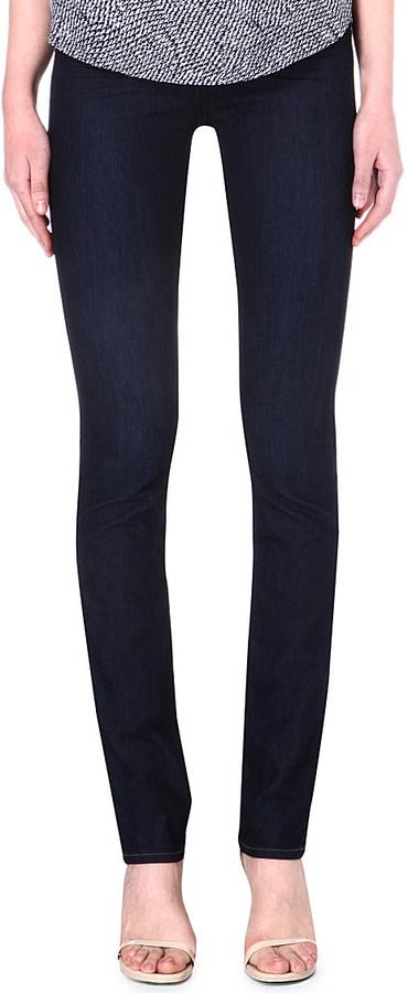 Paige Denim Hoxton straight high-rise jeans