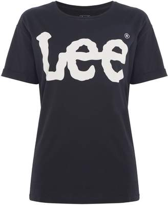 Lee Short Sleeved T-Shirt With Logo