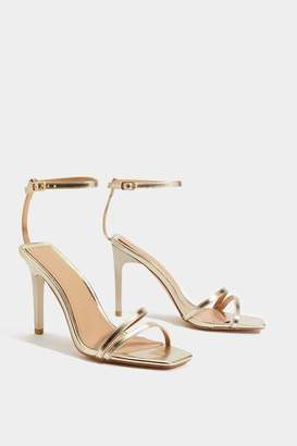 Nasty Gal Do You Square Strappy Heel