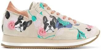 Philippe Model Etoile pug print sneakers