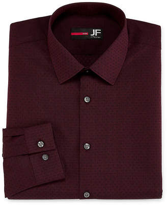 Jf J.Ferrar Easy-Care Solid Big And Tall Long Sleeve Dress Shirt