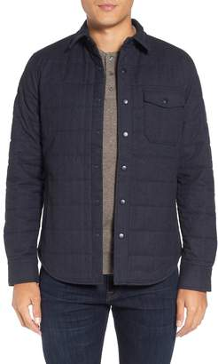 Bonobos Quilted Herringbone Shirt Jacket