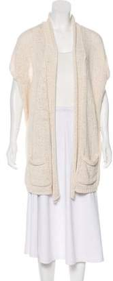 Calypso Open Front Rib Knit Cardigan w/ Tags