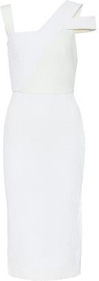 Roland Mouret Elsom crepe dress