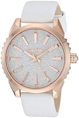 Diesel Women's DZ5541 Nuki Rose Gold Leather Watch