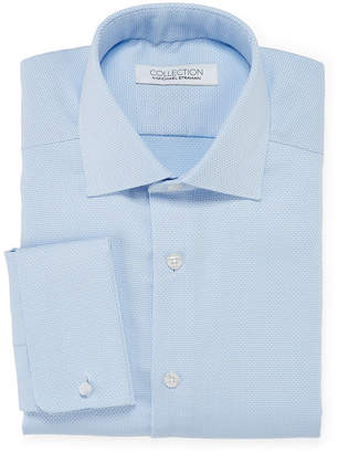 COLLECTION Collection by Michael Strahan Cotton Stretch Dress Shirt with French Cuffs