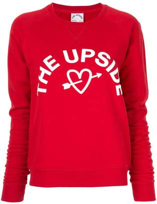 The Upside logo printed sweatshirt