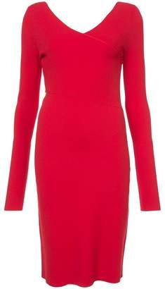 Diane von Furstenberg fitted v-neck dress