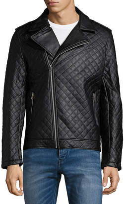 Moto American Stitch Quilted Jacket