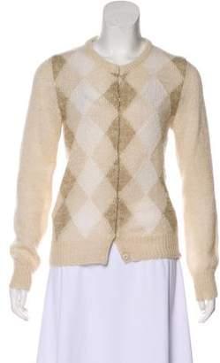 Prada Mohair Knit Cardigan