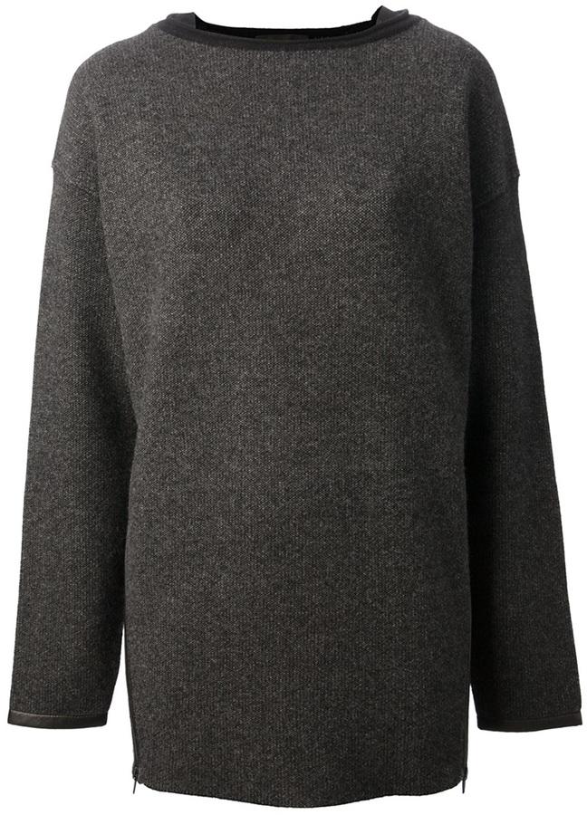 Alexander Wang zip detail jumper