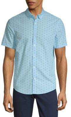 Original Penguin Flamingo-Print Shirt