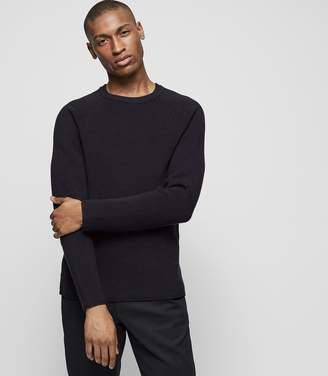 Reiss EMORY Ribbed crew-neck jumper
