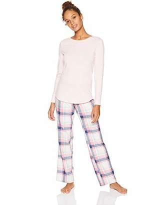 Amazon Essentials Women's Lightweight Flannel Pajama Set