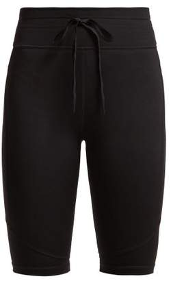 The Upside Matte Spin Technical Shorts - Womens - Black