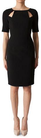 Black HaloBlack Halo Solid Devon Dress