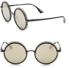 Le Specs Luxe Luxe Women's Ovation Matte Black& Gold Sunglasses - Matte Black