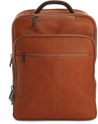 Kenneth Cole Reaction Columbian Leather Computer Backpack - Men's