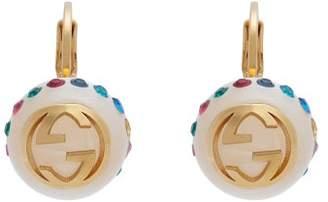 b71ce163ed5 Gucci Gg Faux Pearl Earrings - Womens - Multi