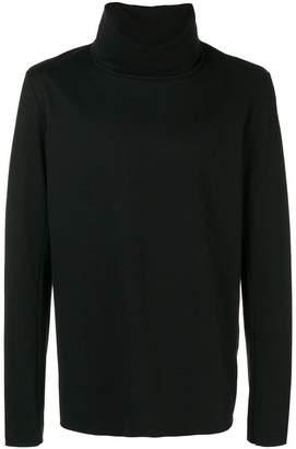 Attachment funnel neck sweatshirt