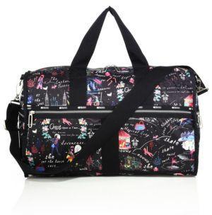 LeSportsac CR Large Floral Weekender Bag $200 thestylecure.com