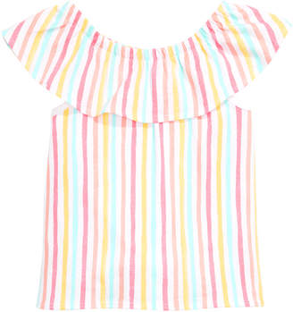 64b7dec6b First Impressions Baby Girls Flounce Striped Top