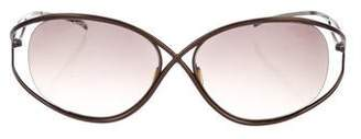 Christian Roth Tinted Round Sunglasses