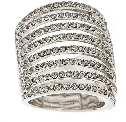 ABS Black Diamond Pavé Ring