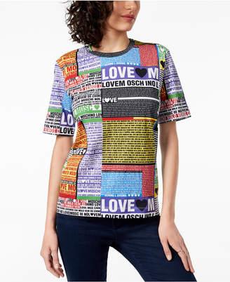 Love Moschino Cotton Love Logo T-Shirt