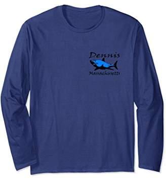 Unisex Dennis Massachusetts Shark Long Sleeve T-Shirt 2XL