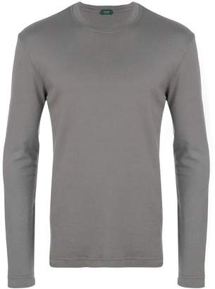 Zanone woven sweatshirt