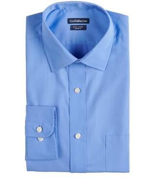 Croft & Barrow Men's Regular-Fit Easy-Care Spread-Collar Dress Shirt