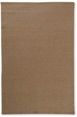 L.L. Bean L.L.Bean Indoor/Outdoor Basketweave Rug, Neutral Solid