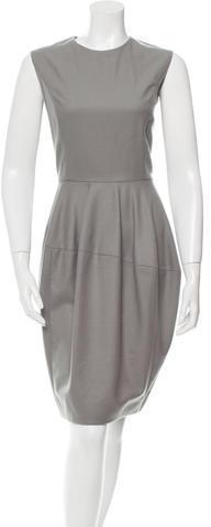 Saint LaurentYves Saint Laurent Wool Sleeveless Dress