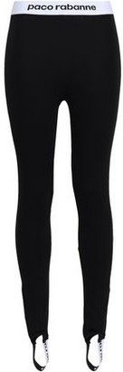 Paco Rabanne Stretch-jersey Stirrup Leggings