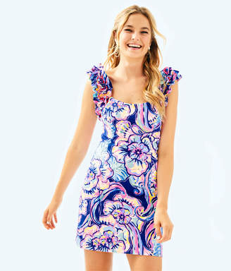 Lilly Pulitzer Womens Devina Stretch Dress