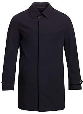 Ermenegildo Zegna Men's Packable Wool Raincoat