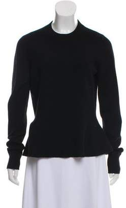 Veronica Beard Cashmere Peplum Sweater