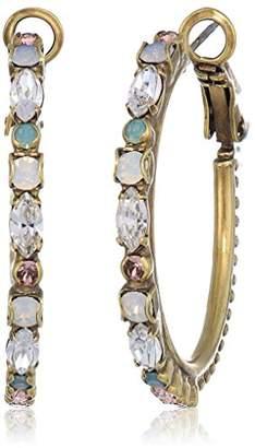 Sorrelli Women's Zinnia Hoop Earrings