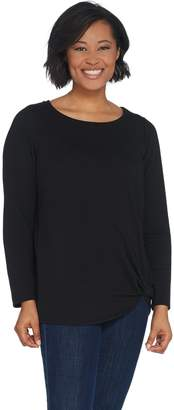 Belle By Kim Gravel Belle by Kim Gravel Long-Sleeve Twist Hem Top