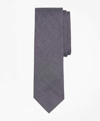 Brooks Brothers Cotton Chambray Slim Tie