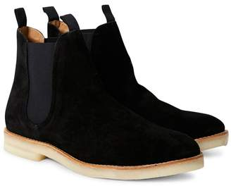 Hudson Sandgate Suede Chelsea Boots Black