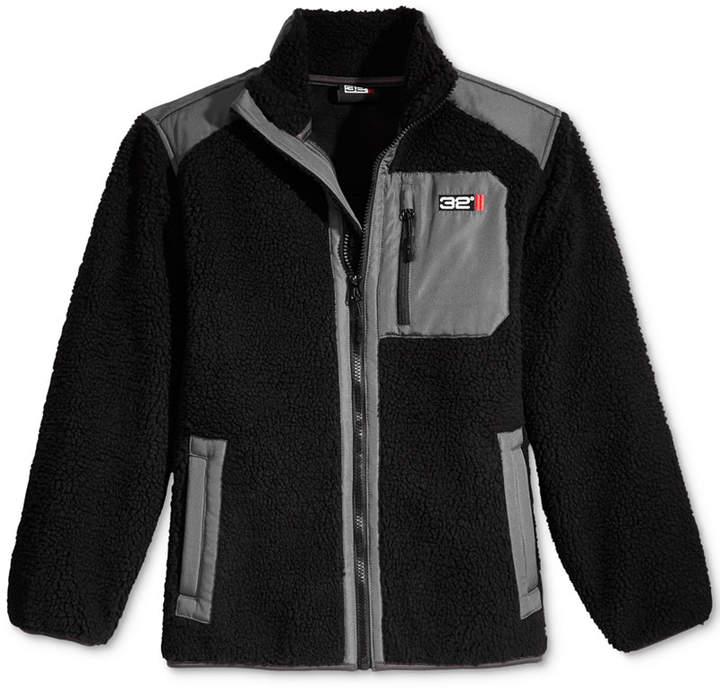 Zip-Up Fleece Jacket, Little Boys
