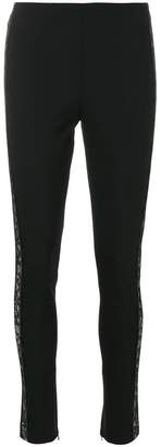 La Perla lace side panel skinny trousers