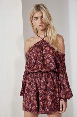 Aster THE FIFTH CAROUSEL PLAYSUIT burgundy
